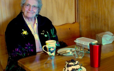 Joan: A Chance Encounter and Black Forest Cake