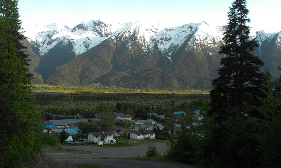 """The village of Gitwinksihlkw (""""Canyon City"""")"""