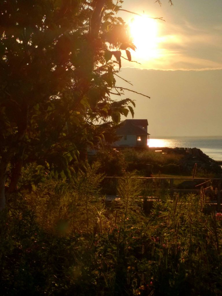 Northumberland Strait, Nova Scotia: Sundown